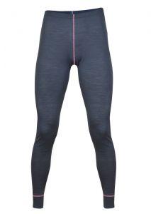 Zobraziť detail - Dámské Merino spodky šedá/ ružová