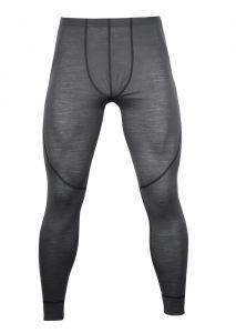 Zobraziť detail - Pánské Merino spodky šedá/ černá