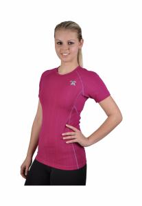 Ružové coolmax tričko