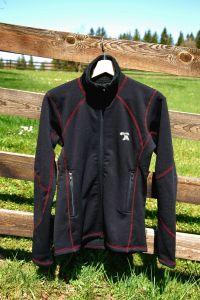 MeTermo dámska funkčná bunda čierna Polartec power stretch MeTermo-Libor Macek
