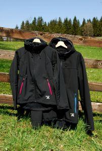 MeTermo pánska Softshell bunda s kapucňou, membránou čierna MeTermo-Libor Macek