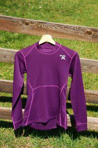 MeTermo termoprádlo dámske termo tričko fialová Thermolite MeTermo-Libor Macek