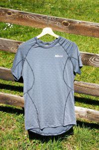 MeTermo termoprádlo pánske termo tričko šedá MeTermo-Libor Macek