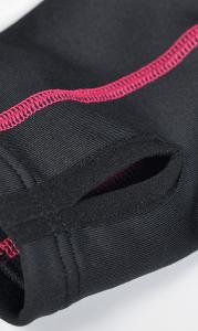 multistretch detail díra na palec