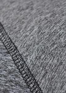 Dámská mikina prodyšná - detail ploché švy