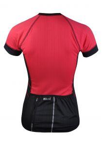 dámský cyklodres - zadní strana s kapsou