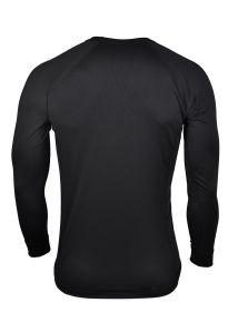 Pánske funkčné Coolmax tričko čierne dlhý rukáv MeTermo-Libor Macek