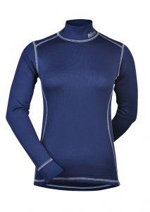 MeTermo termoprádlo dámske termo tričko modrá biele prošití Thermolte MeTermo-Libor Macek