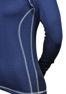 Dámské Thermolite tričko biele prošité - zimné termoprádlo MeTermo-Libor Macek