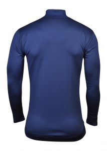 thermolite triko zadní strana modrá