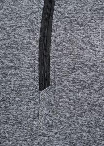 Pánská mikina prodyšná - krátký zip